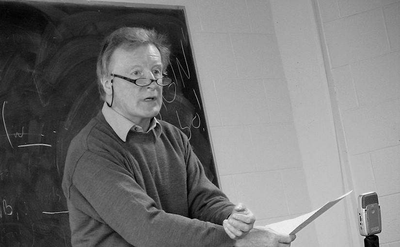 Professor Michael Laffan photographer by Mike Liffey.